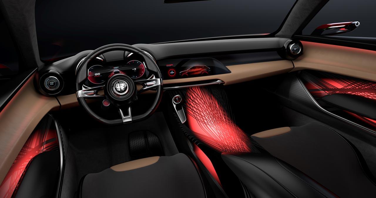 Interior Alfa Romeo Tonale Concept