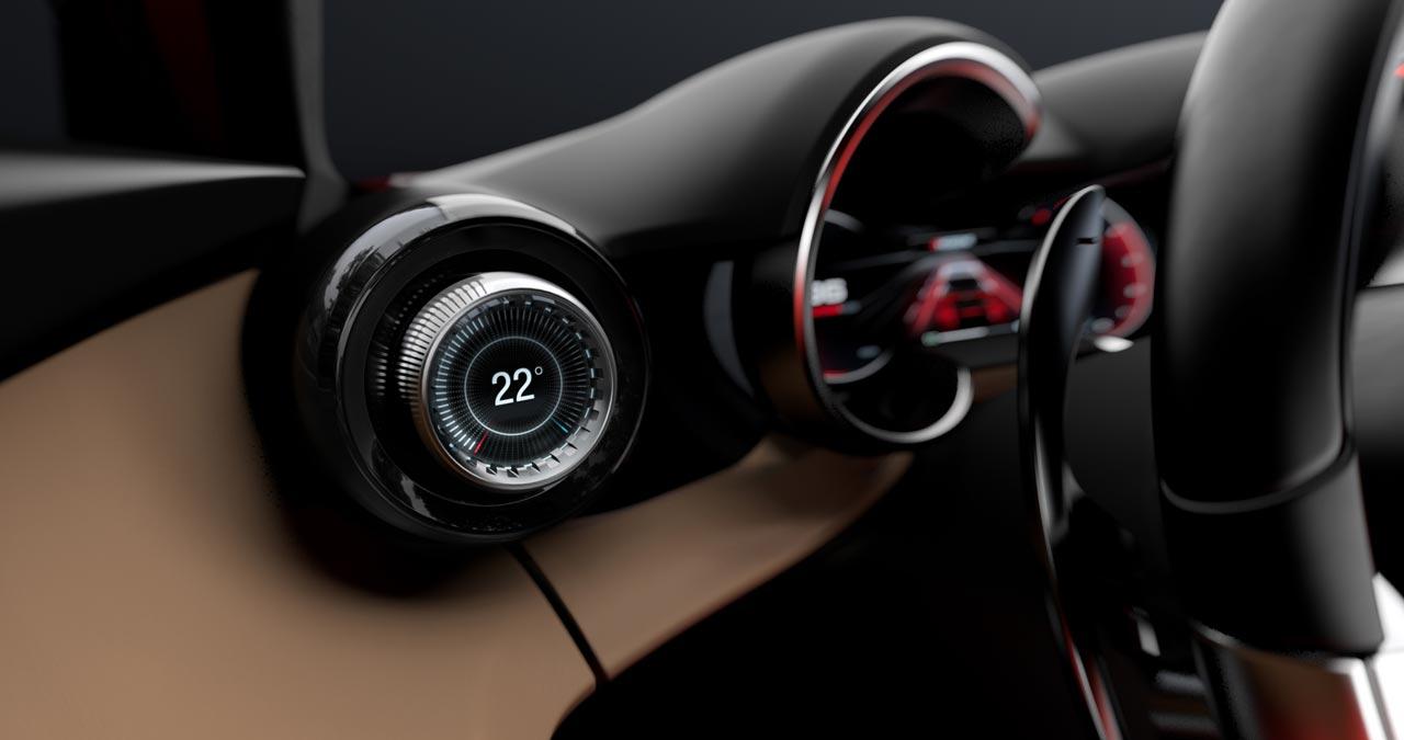 Interior Alfa Romeo Tonale