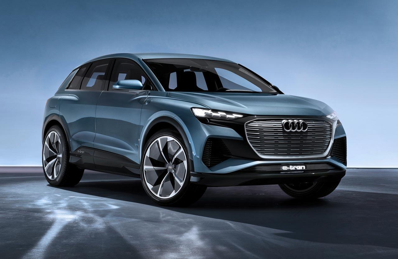 Con el Q4 e-tron concept, Audi anticipa un nuevo SUV eléctrico