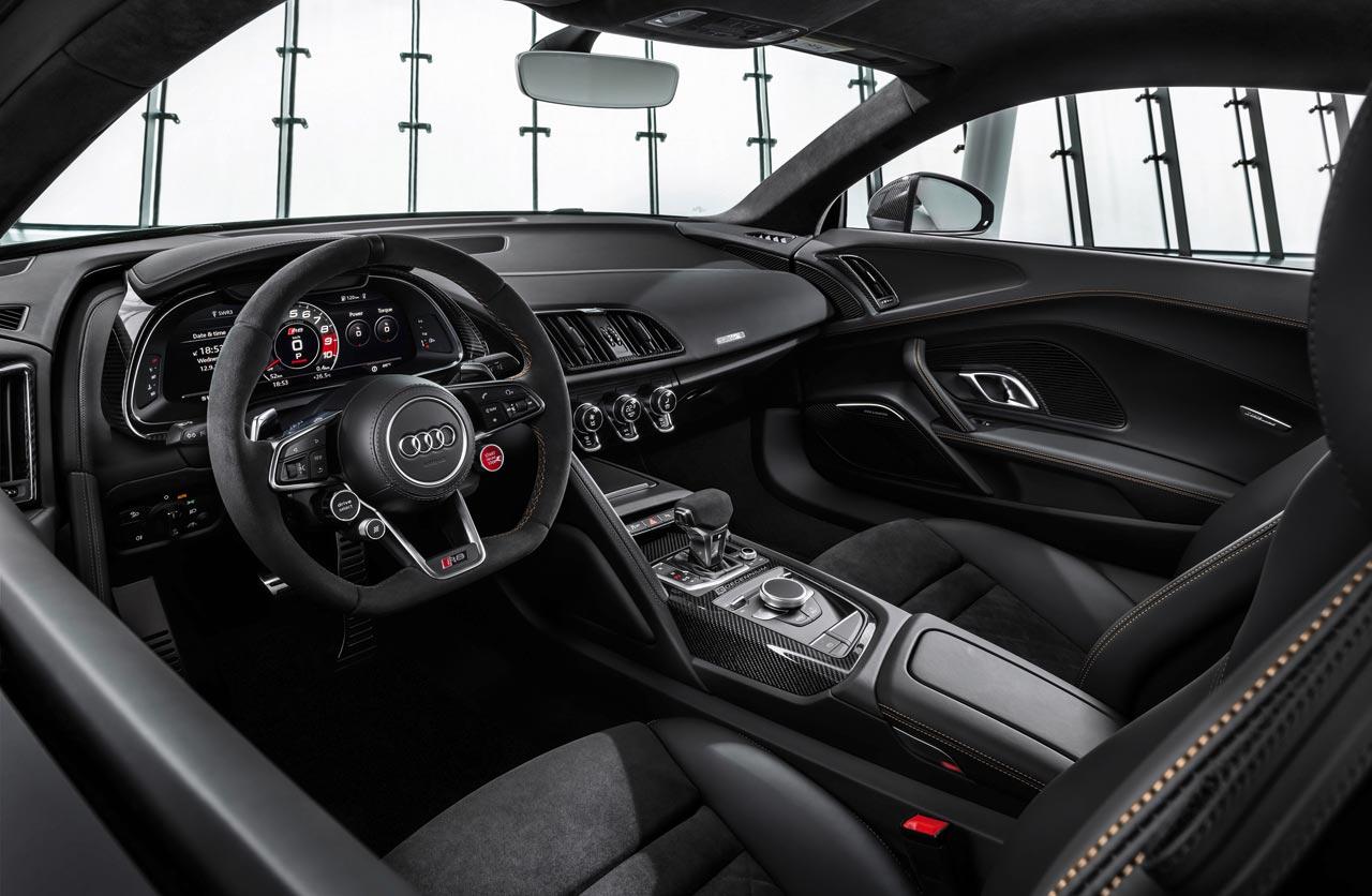 Interior Audi R8 V10 Decennium