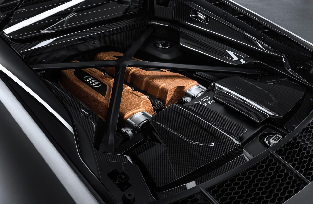 Motor Audi R8 V10 Decennium