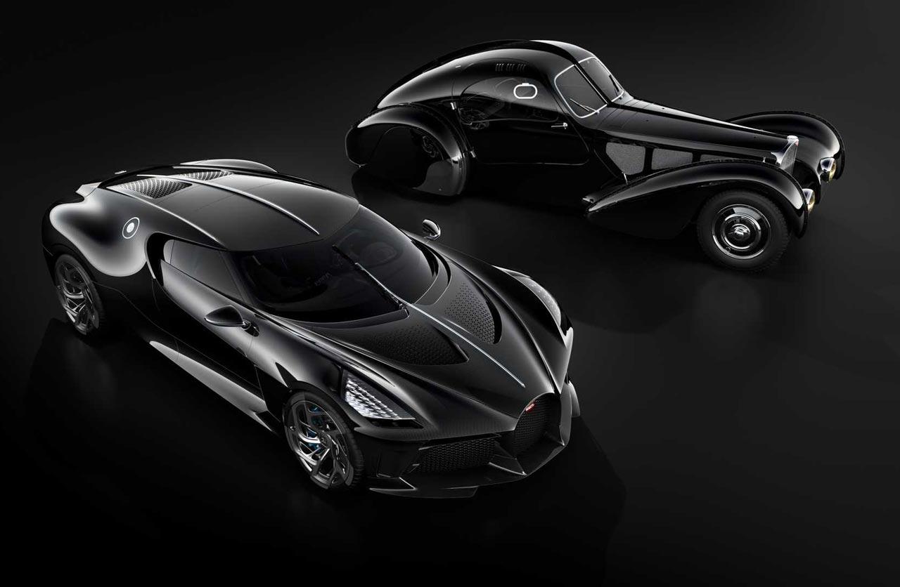 Bugatti La Voiture Noire, el auto nuevo más caro de la historia