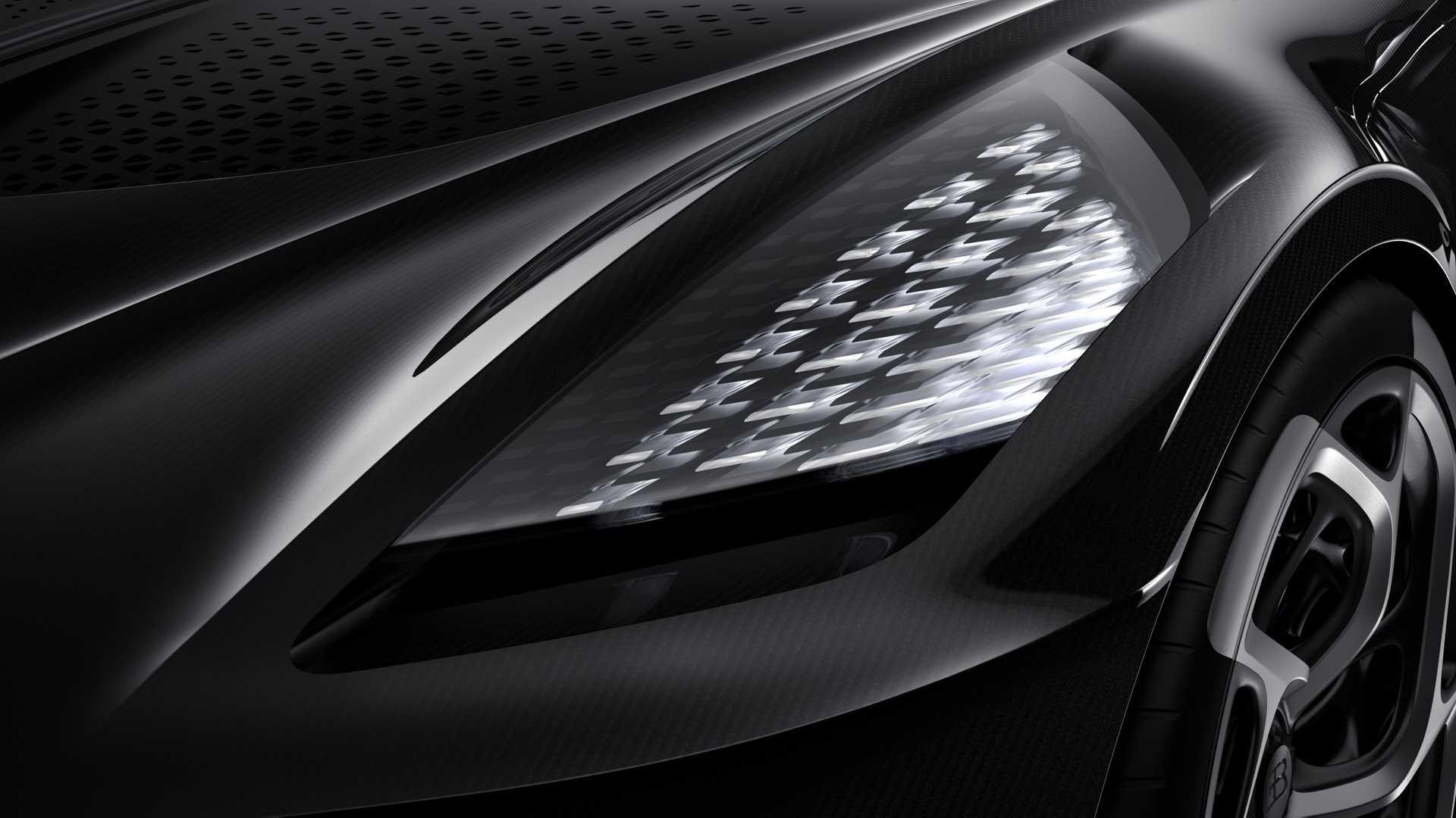 Bugatti La Voiture Noire El Auto Nuevo M 225 S Caro De La