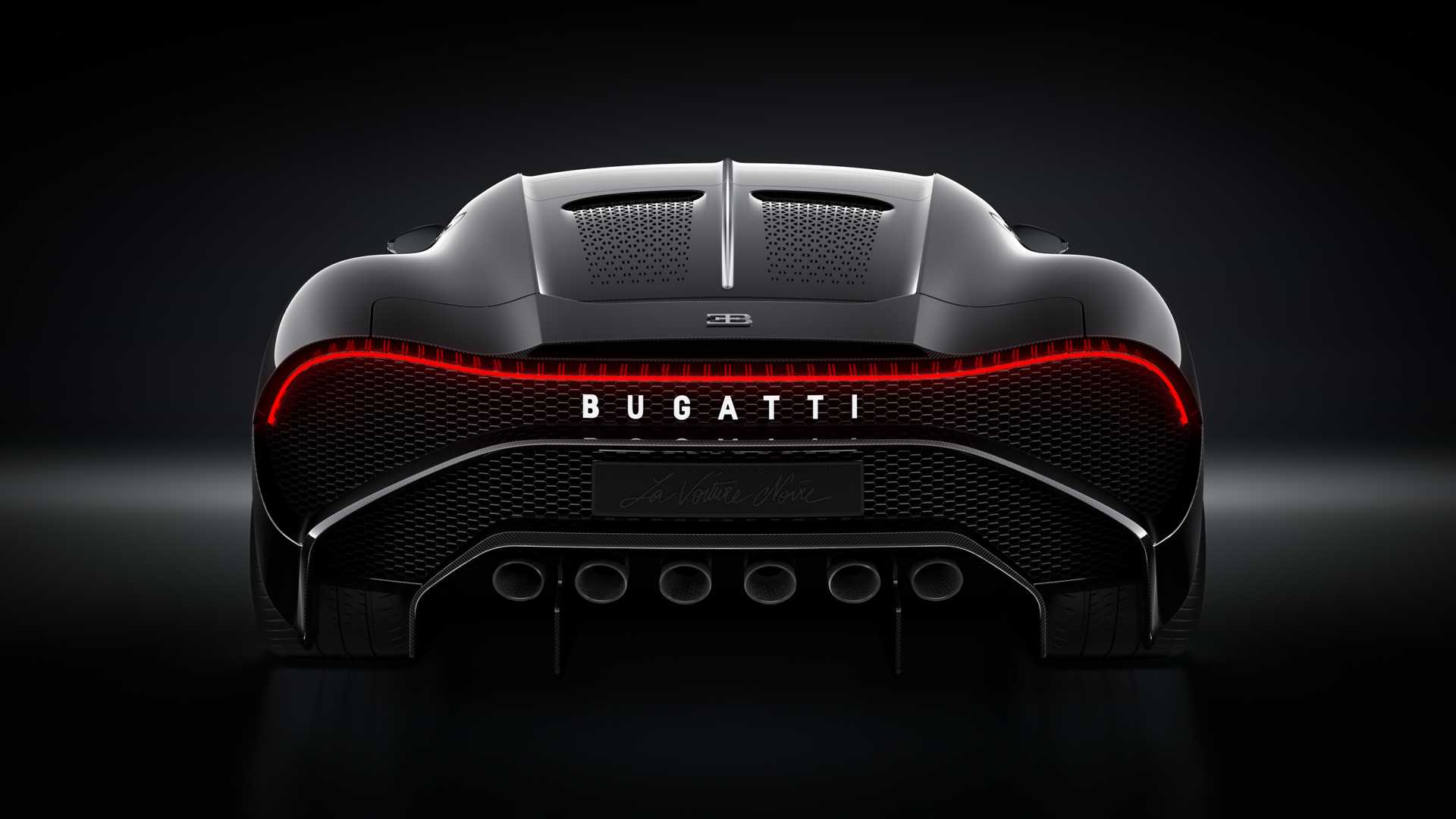 Bugatti La Voiture Noire, el auto nuevo más caro de la ...