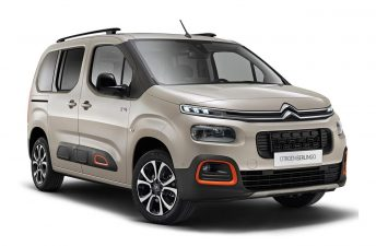 La nueva Citroën Berlingo, registrada en Brasil