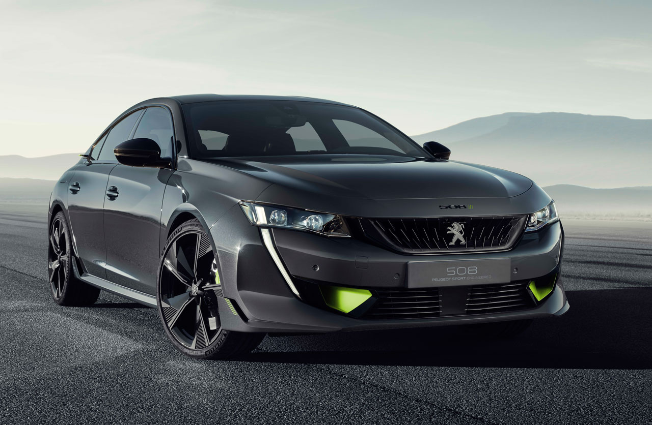 Concept 508 Peugeot Sport Engineered: potente y ecológico