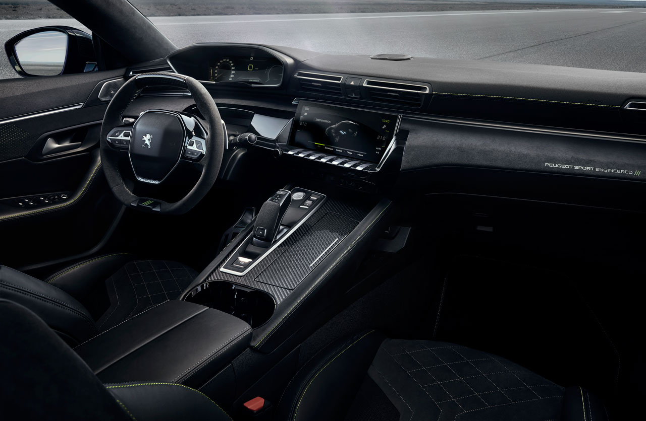 Interior Concept 508 Peugeot Sport Engineered