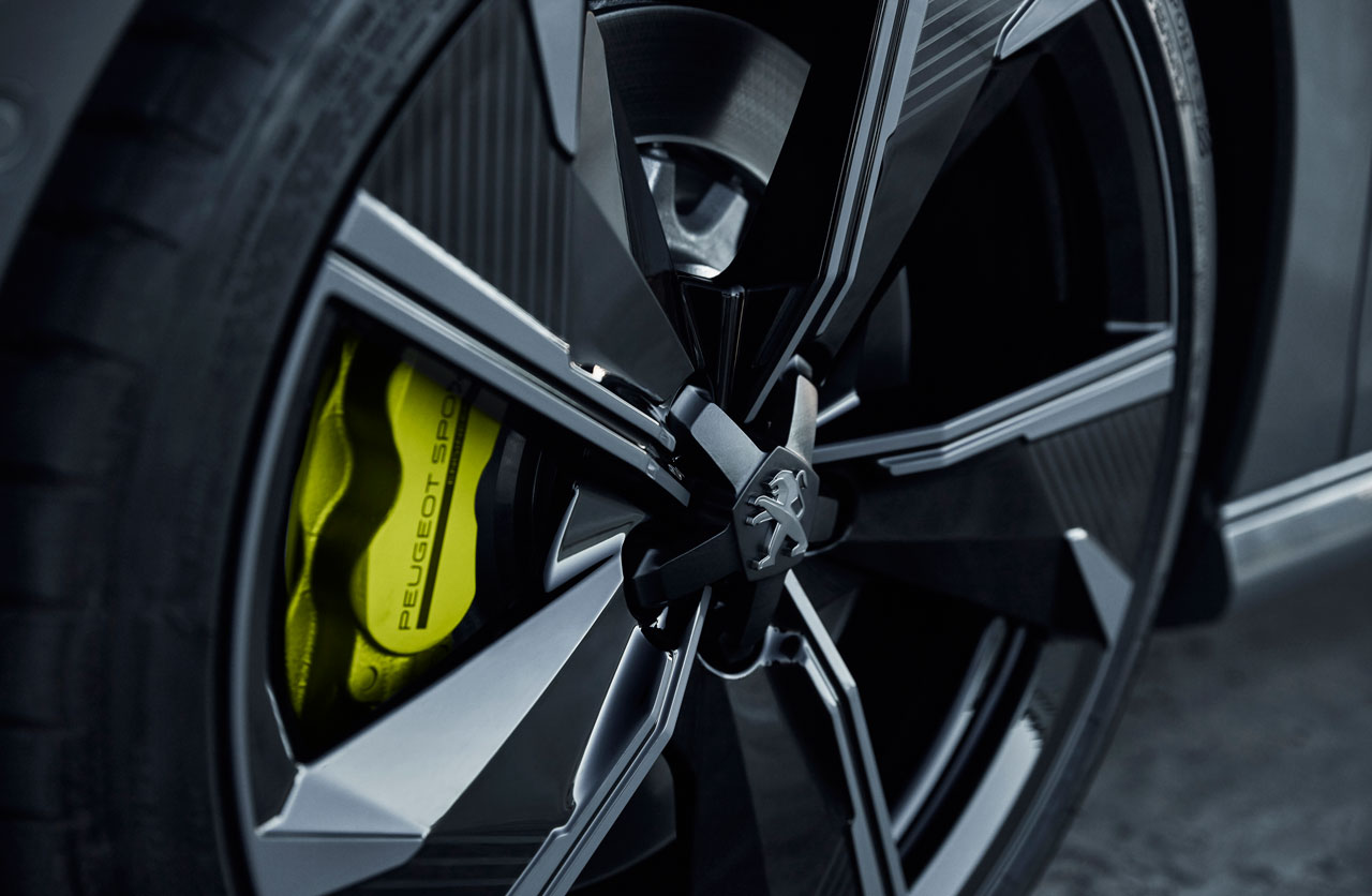 Llantas Concept 508 Peugeot Sport Engineered