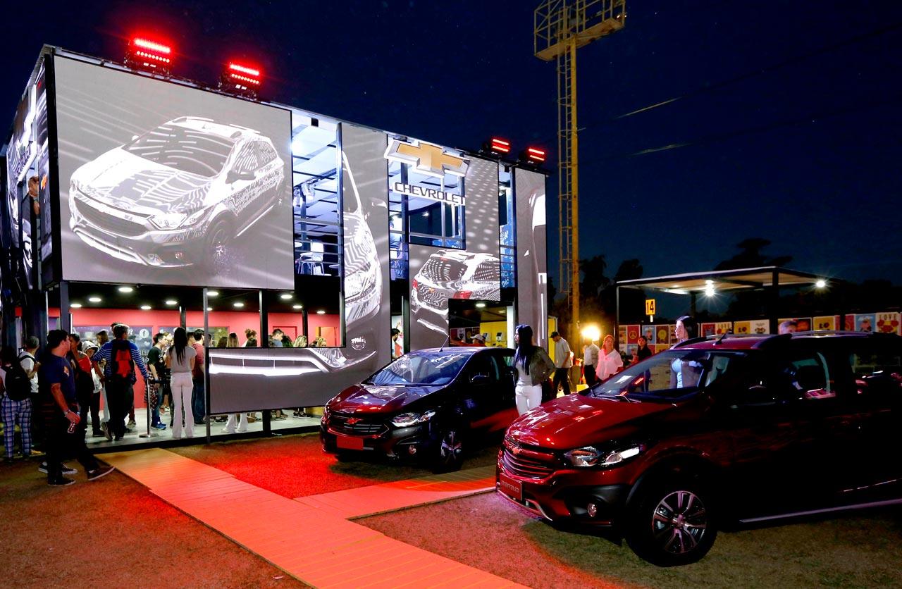 Chevrolet Onix, nuevamente protagonista del Lollapalooza