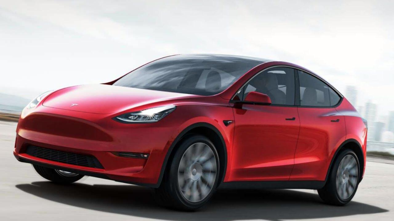 model y el nuevo suv el233ctrico de tesla mega autos