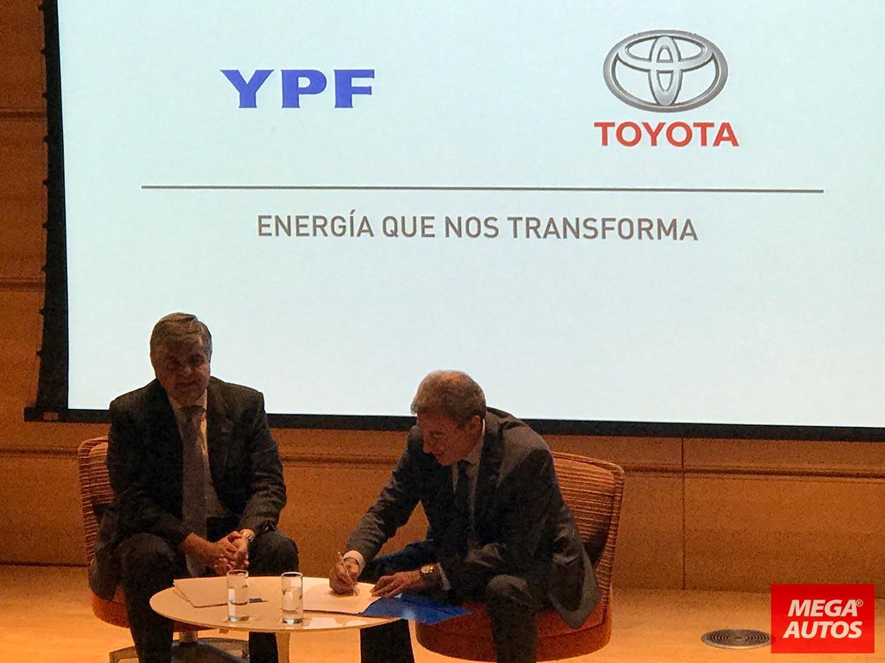 Acuerdo YPF Toyota