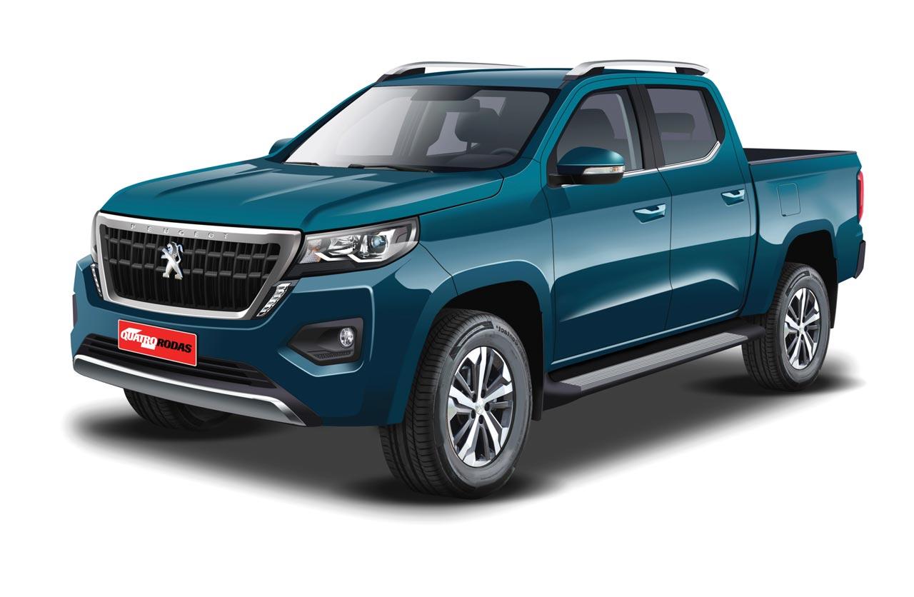 Anticipan la pick up mediana de Peugeot