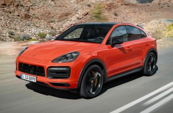 Porsche Cayenne, también Coupé