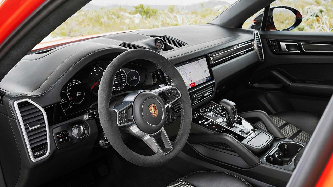 Interior Porsche Cayenne Coupé
