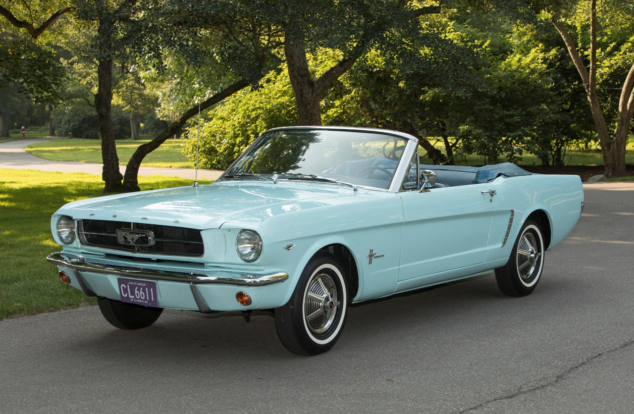 El Ford Mustang celebra 55 años de historia