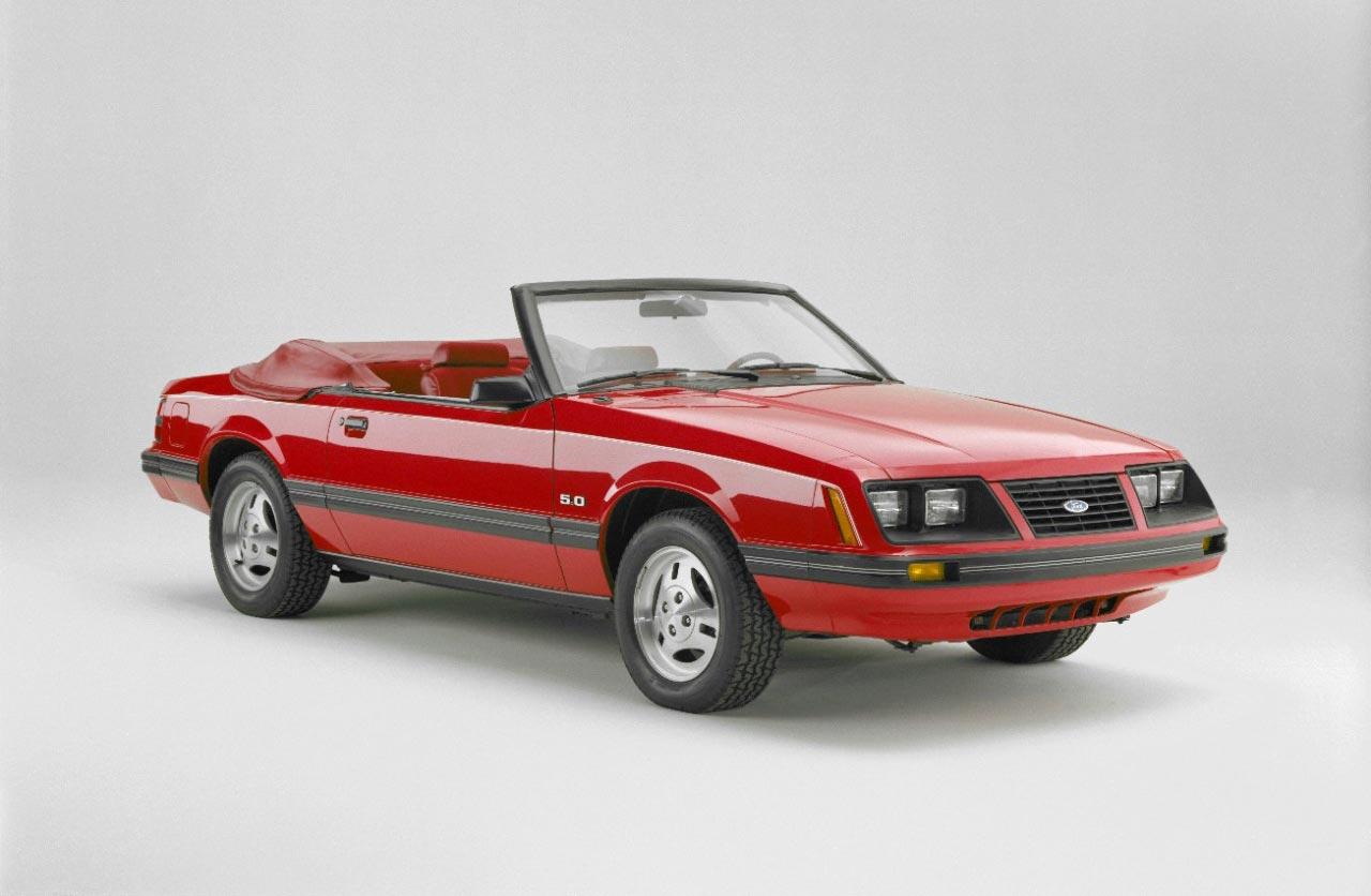 Mustang Convertible (1983)