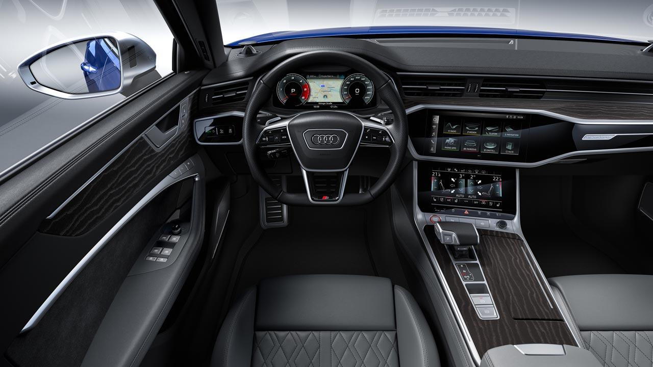 Interior Audi S6 2020
