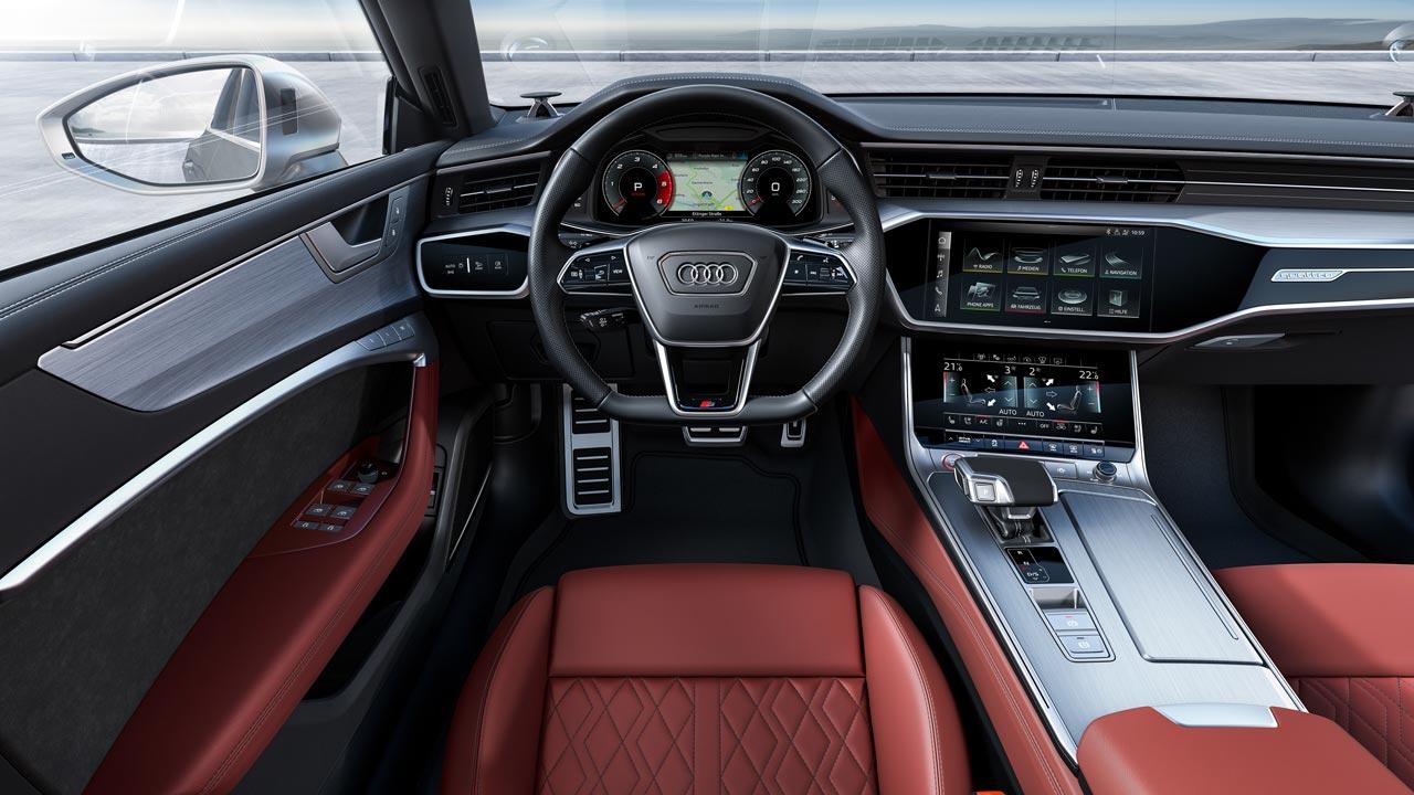 Interior Audi S7 Sportback 2020