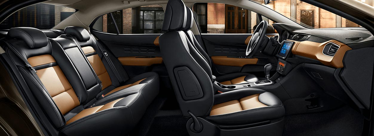 Interior nuevo Citroën C4 Lounge 2019 China