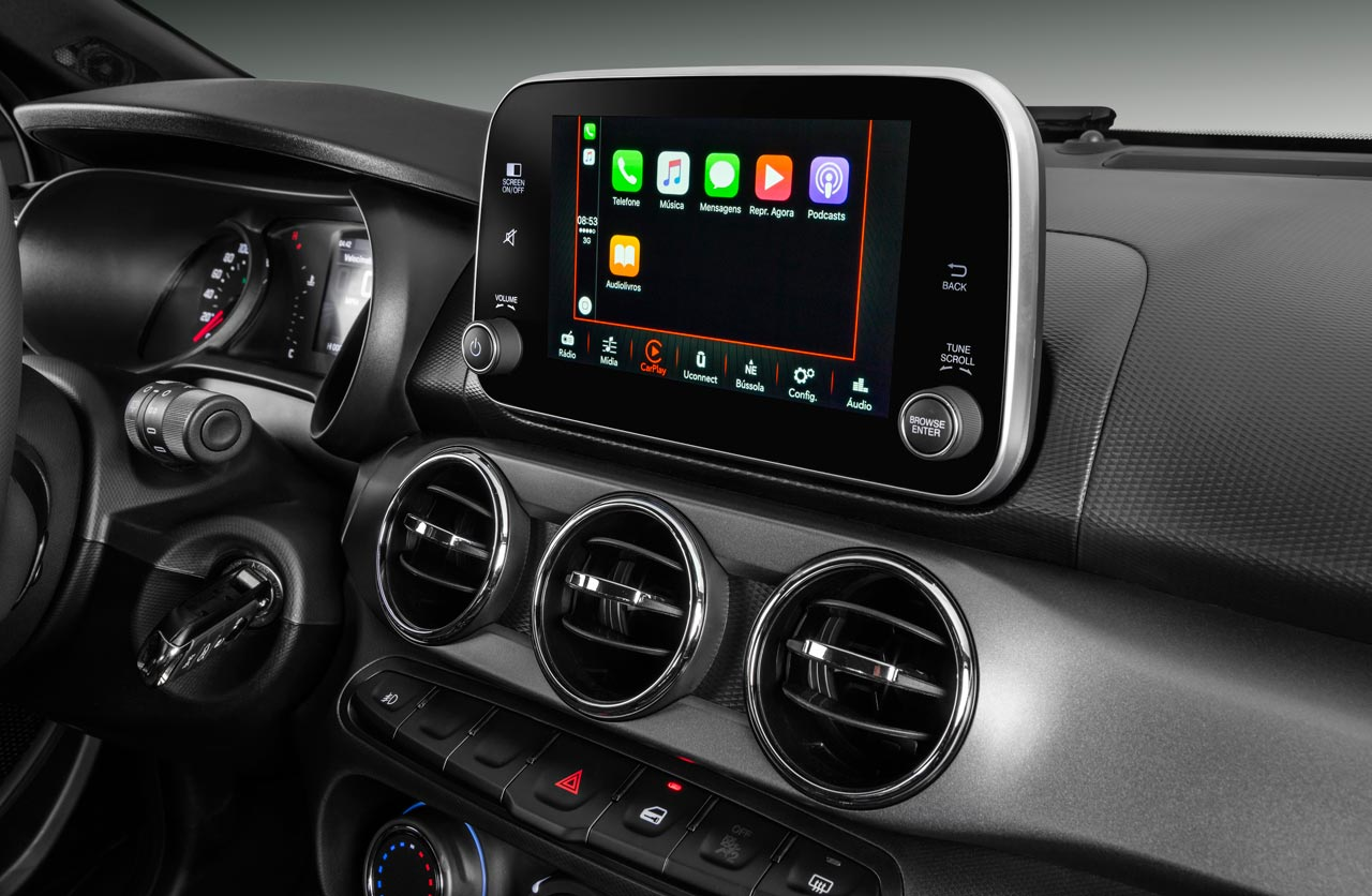 Interior Fiat Argo Trekking