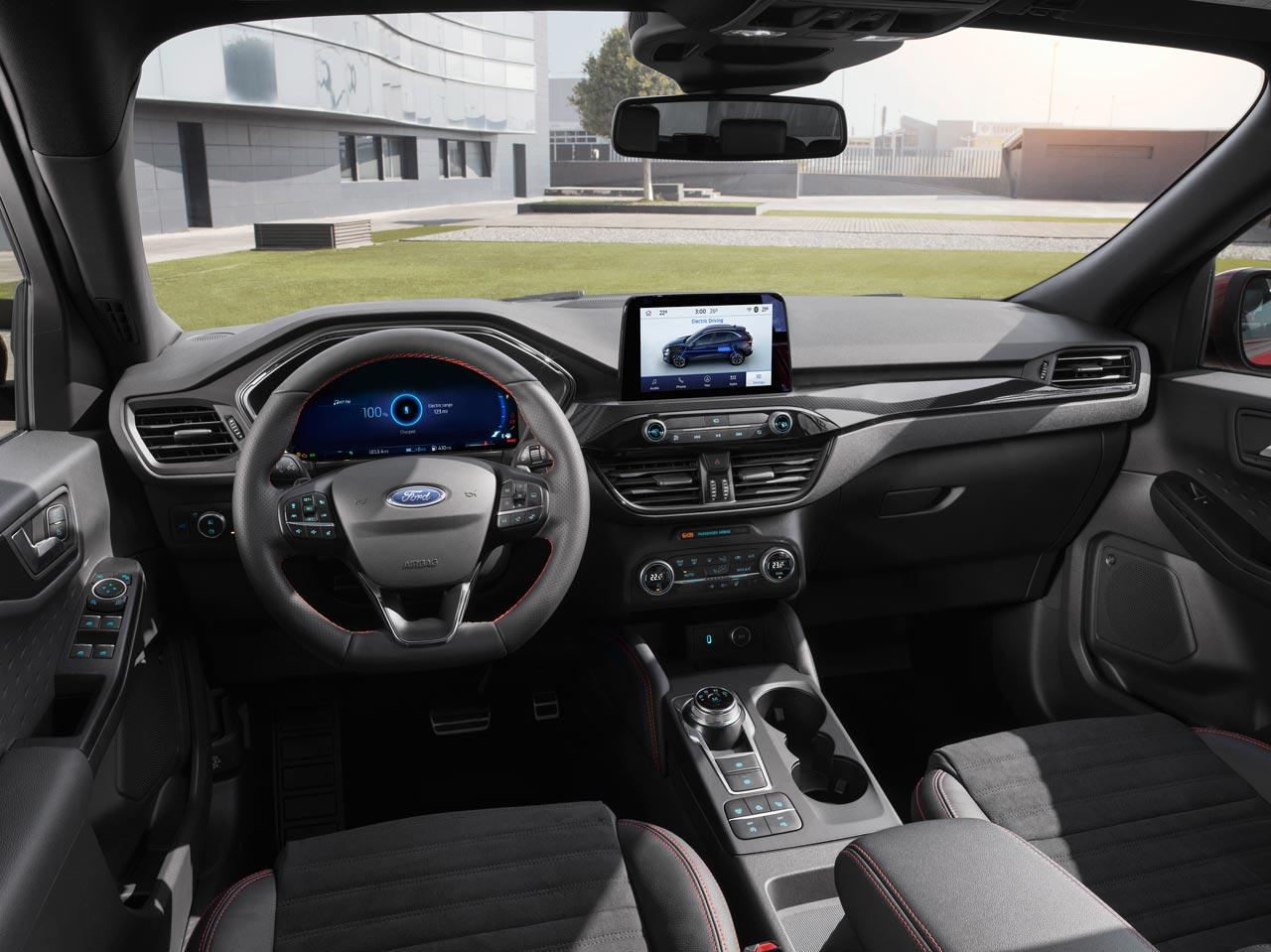 Interior nuevo Ford Kuga 2019