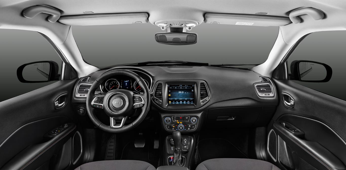 Interior Jeep Compass 2019