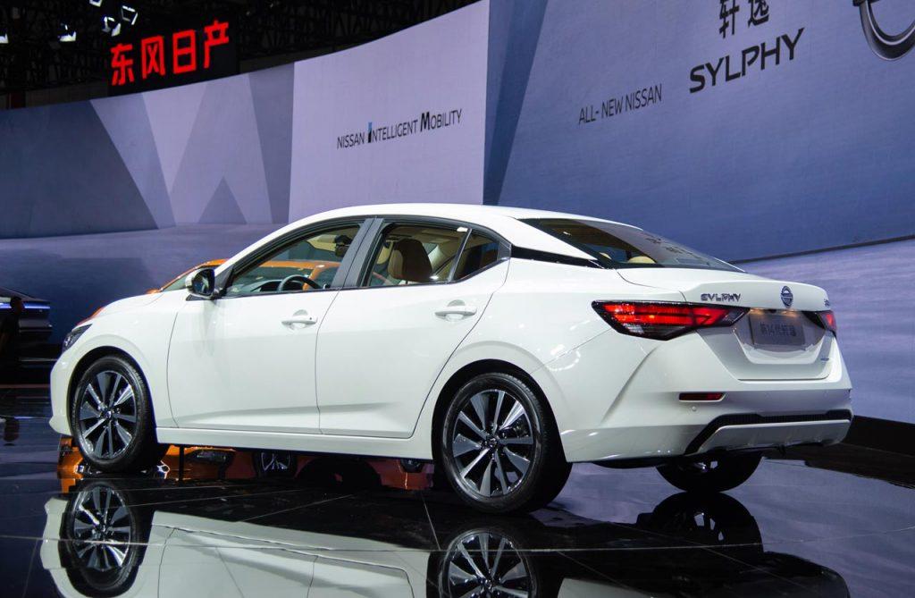 Nissan-Sylphy-Sentra-2020-auto-shanghai - Mega Autos