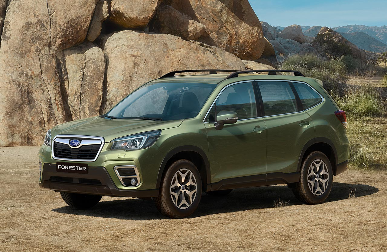 El New Forester, un SUV multipremiado