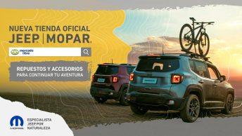 e-commerce: accesorios y repuestos Jeep Mopar también online