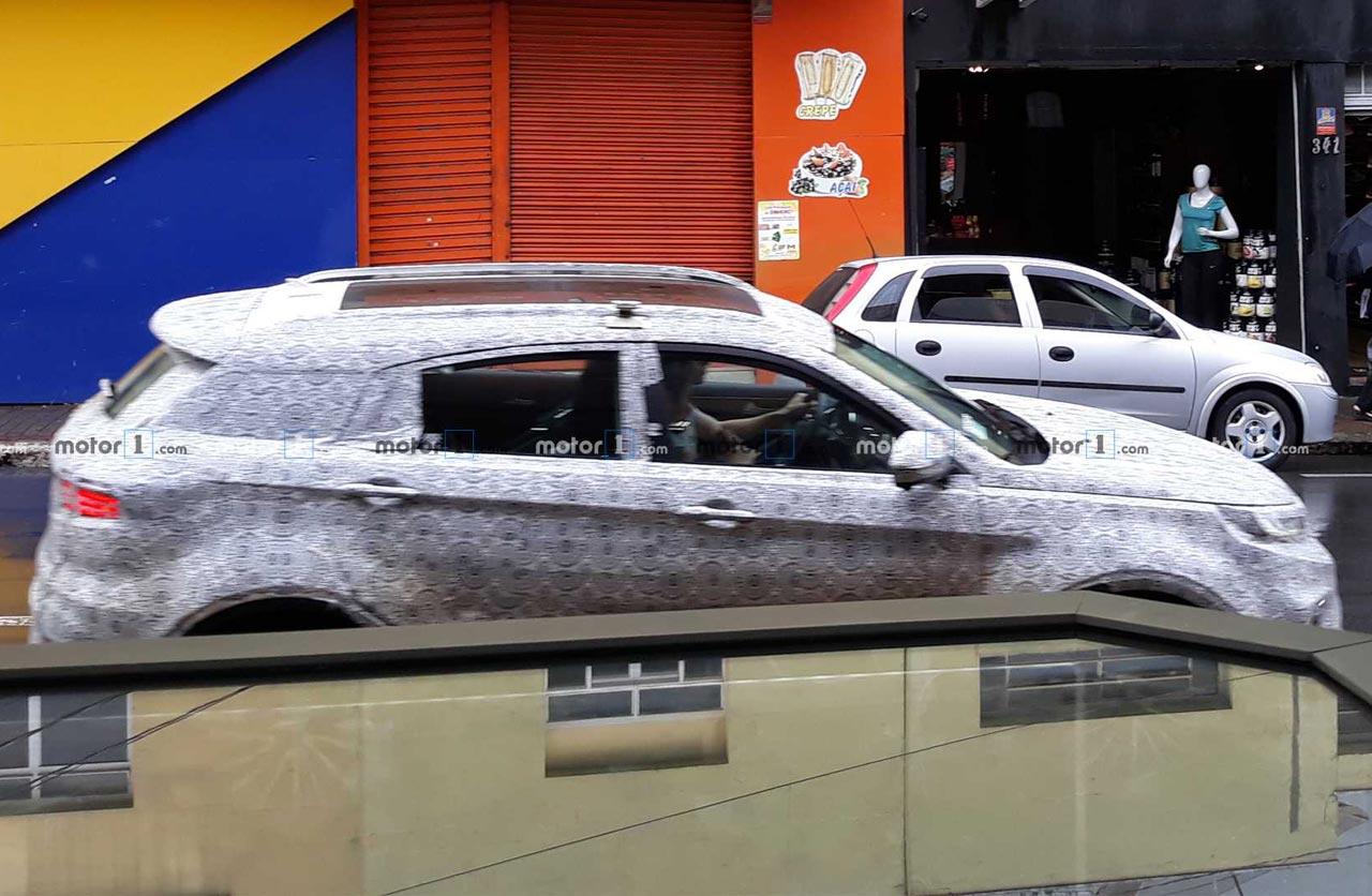 Ford prueba el Territory en Brasil