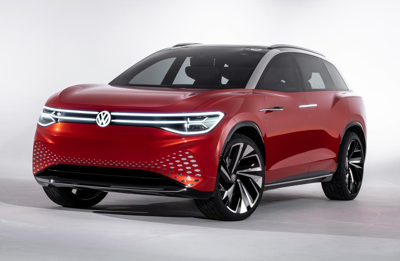 ID. Roomzz: Volkswagen anticipa un nuevo SUV eléctrico