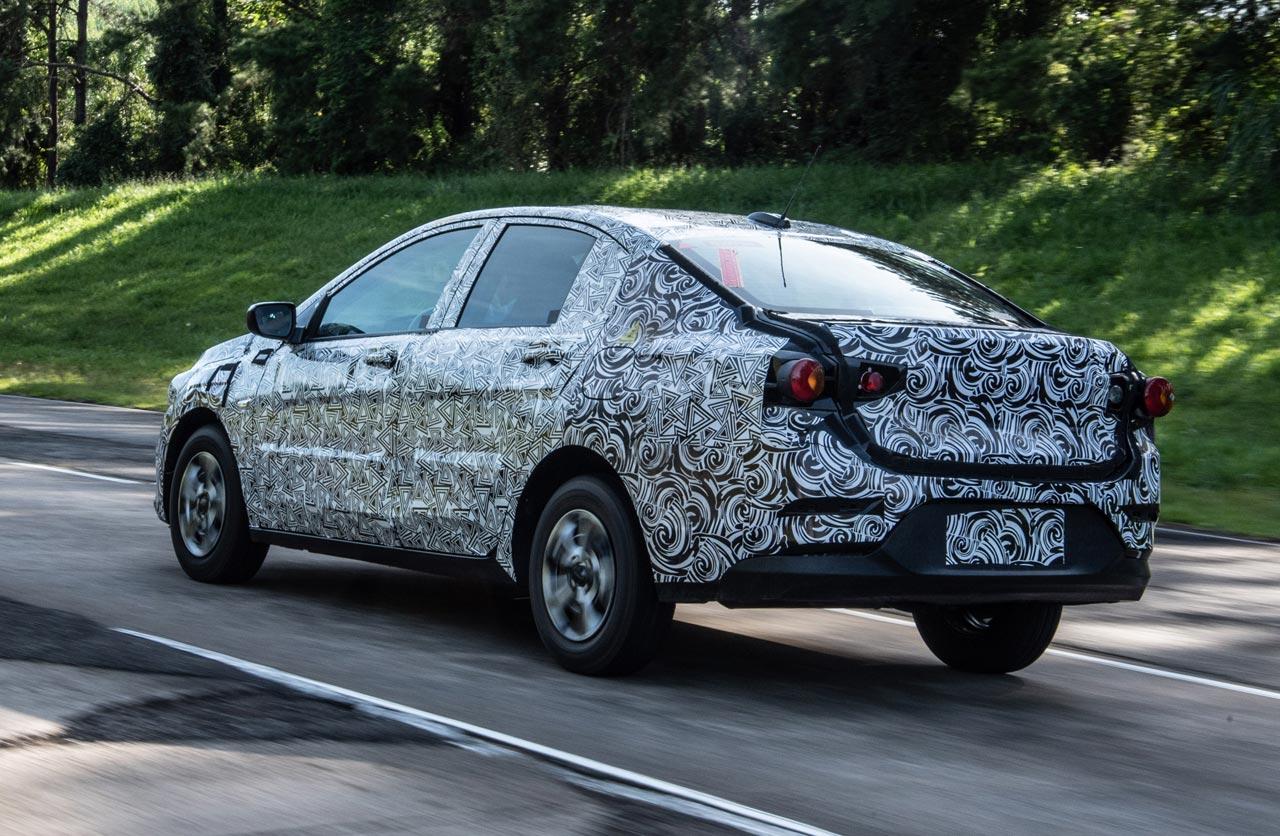 Nuevo Chevrolet Onix Sedán (ex Prisma)