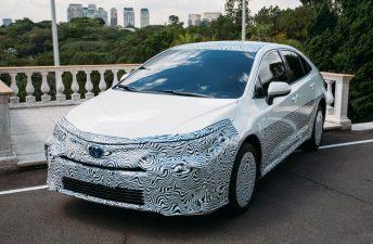 Cómo será el nuevo Toyota Corolla regional