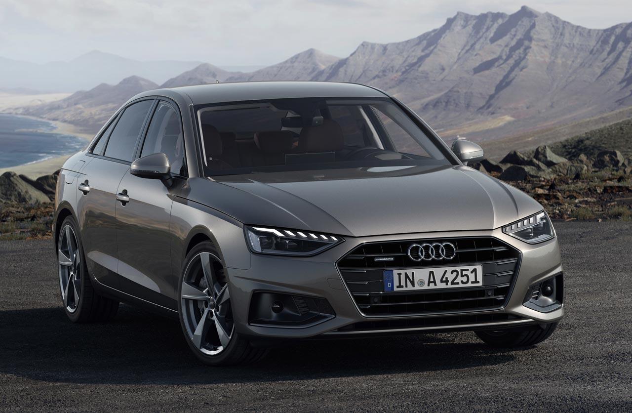 Con ustedes, el nuevo Audi A4