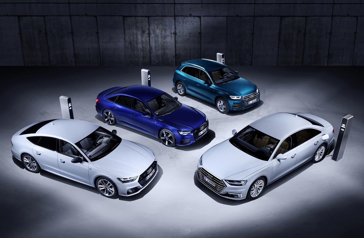 Audi Q5, A6, A7 y A8 híbridos (PHEV)