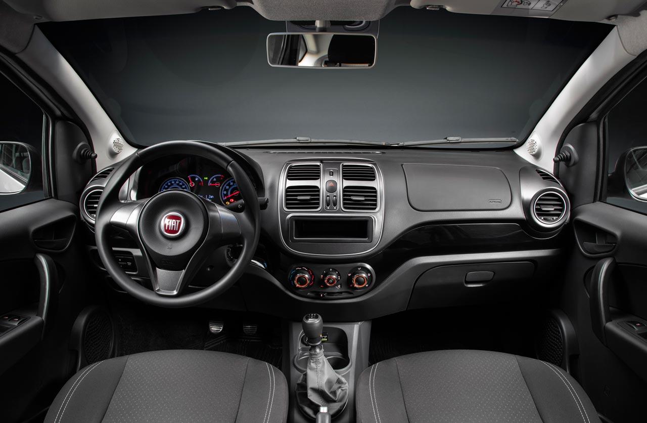 Interior Fiat Grand Siena GNC