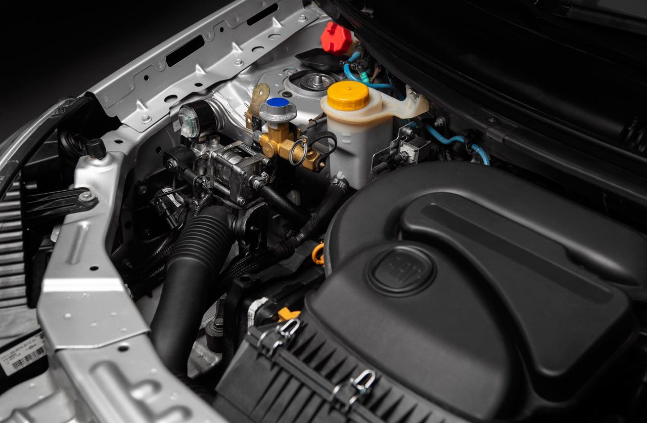 Motor Fiat Grand Siena GNC