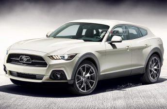 """¿Será así el Ford """"Mustang"""" SUV?"""