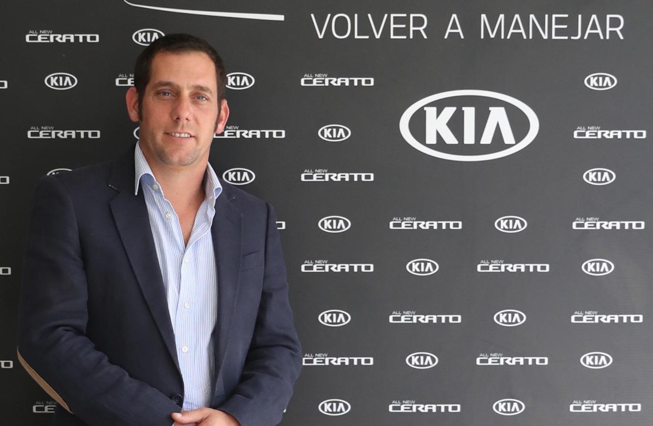 Luciano Ferrari designado gerente Comercial, Marketing y Producto de Kia Argentina