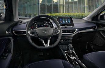 Así es el interior de la nueva Chevrolet Tracker