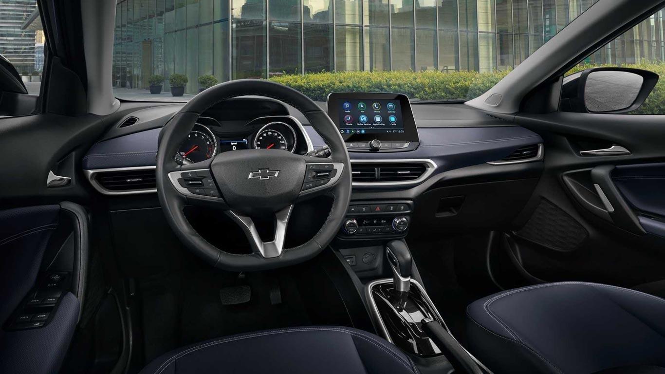 Interior Chevrolet Tracker 2020