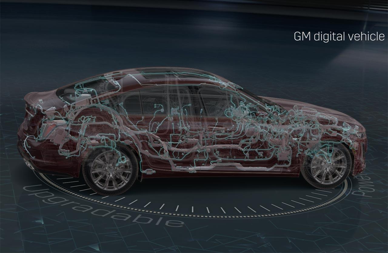 GM se prepara para el futuro con nueva arquitectura electrónica