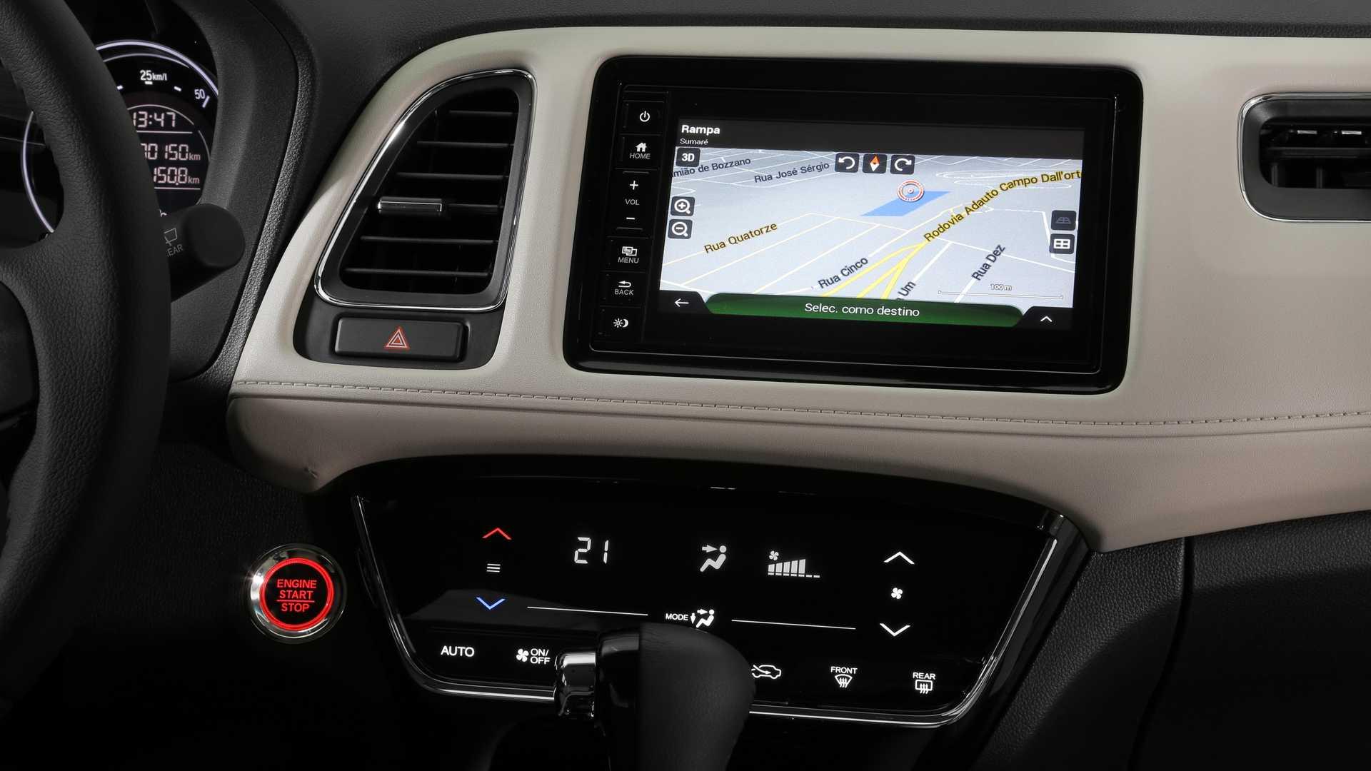 Interior Honda HR-V turbo