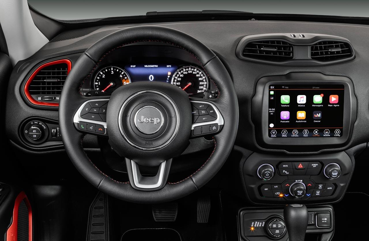 Jeep Renegade Interior >> Jeep Lanzo El Renegade 2019 En Argentina Mega Autos