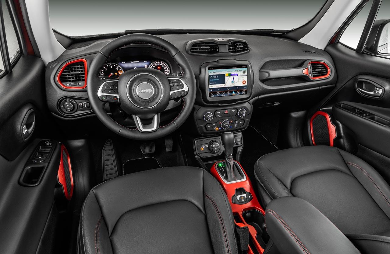 Interior Jeep Renegade 2019
