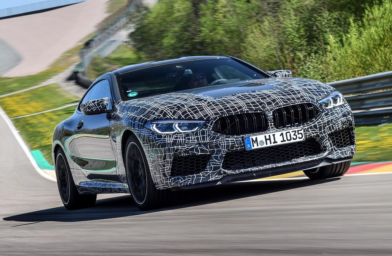 BMW anticipa el nuevo M8