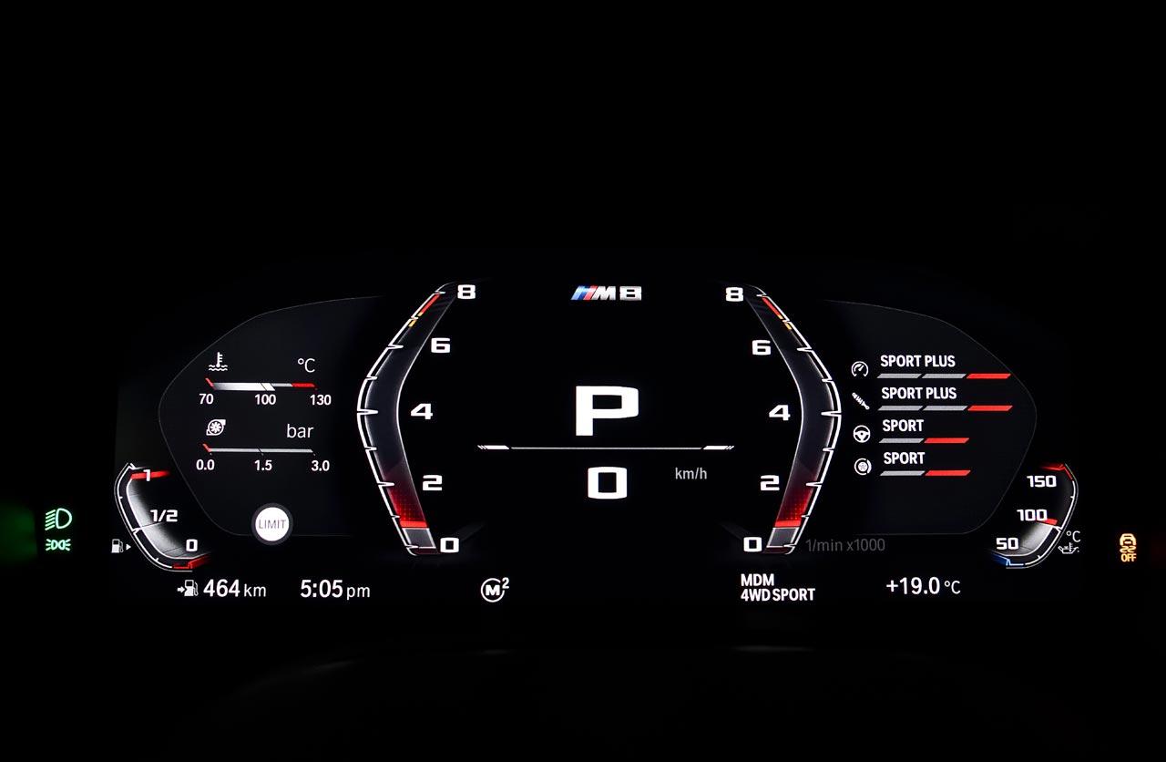 Tablero Nuevo BMW M8