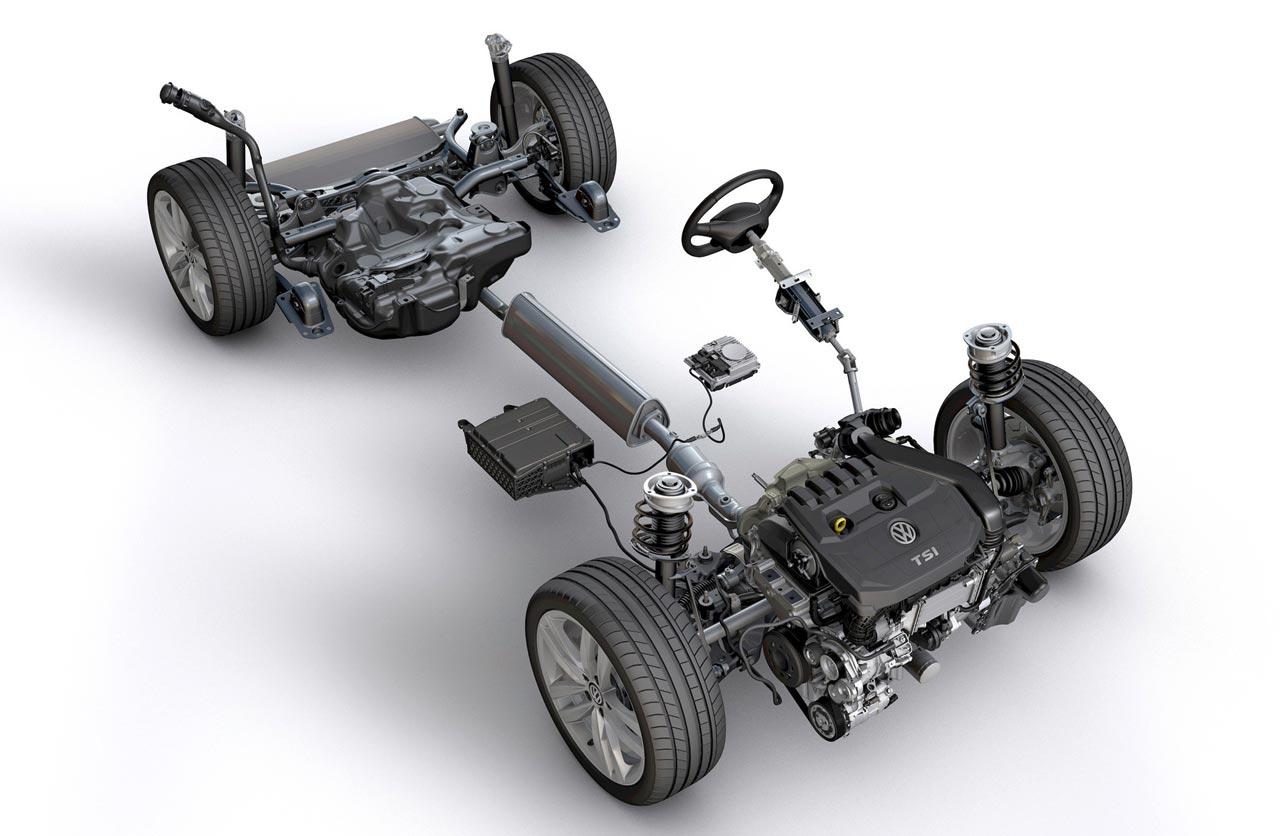 VW Golf mk8 mild hybrid