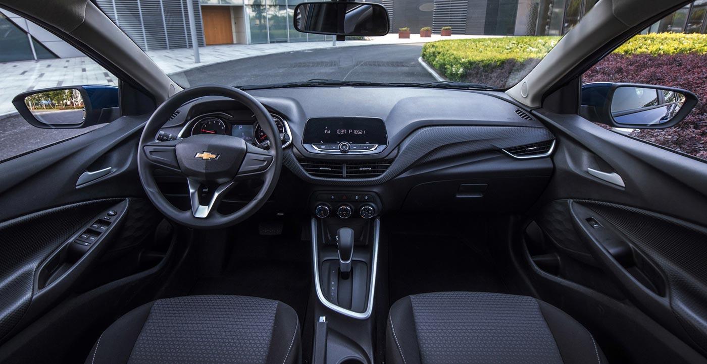 Interior Nuevo Chevrolet Onix Plus Sedán 2020