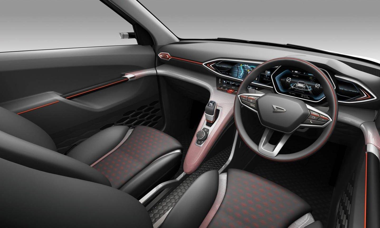 Interior Daihatsu DN Trec Concept